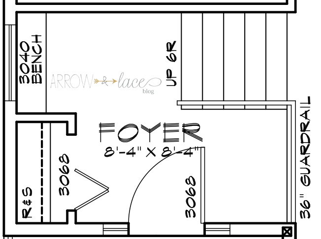 foyerarrowandlacehome