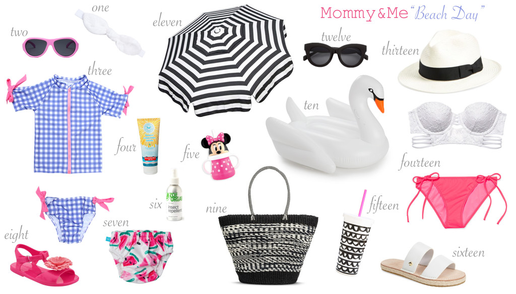 mommy&mebeachdayswithnumbers